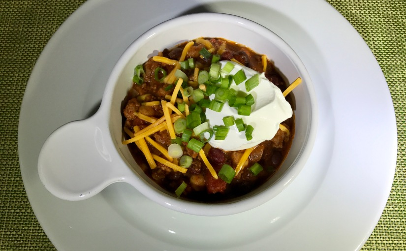 Easy 3-Bean Turkey Chili with Chipotle