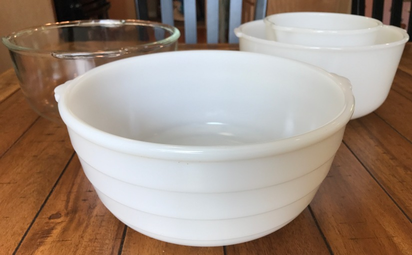 Thrifted Find: GE Beehive Mixing Bowl