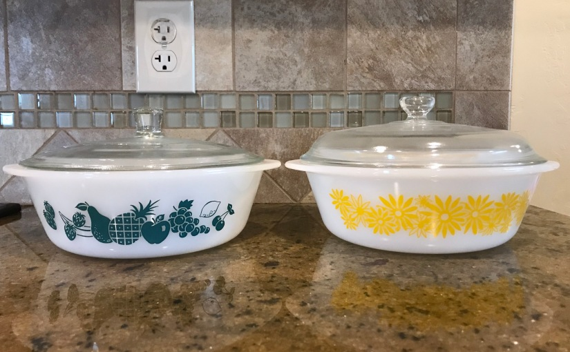 Thrifted Find: Glasbake Casseroles