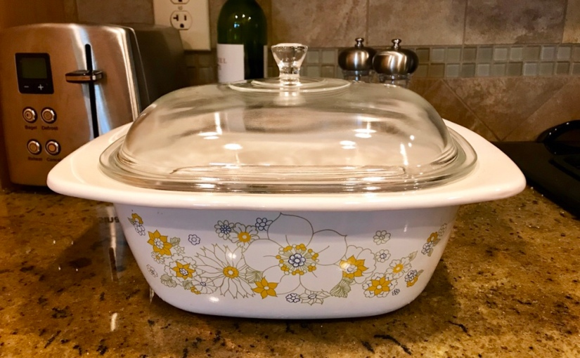 Thrifted Find: Corning Ware Dutch Oven