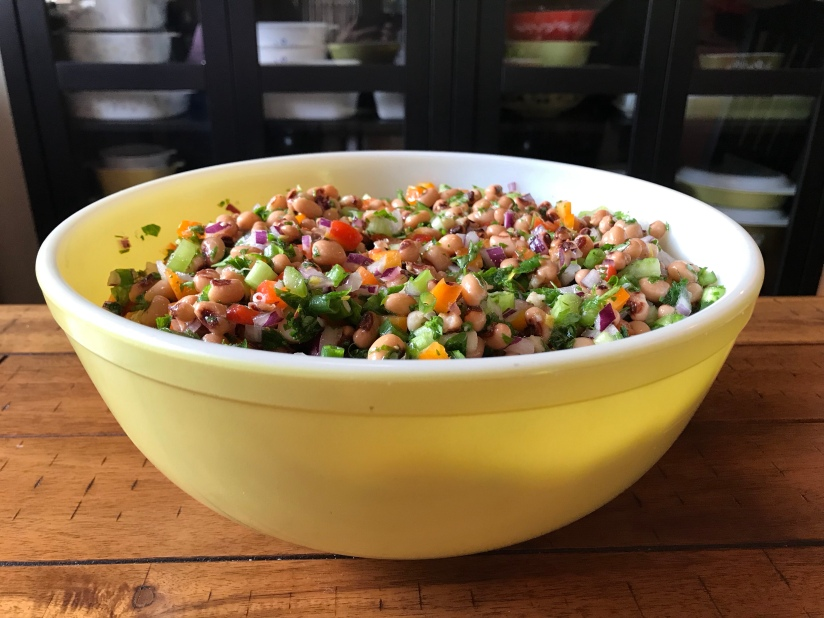 Rainbow Black-Eyed Pea Salad