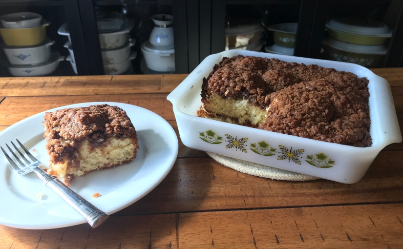 Double Streusel Coffee Cake