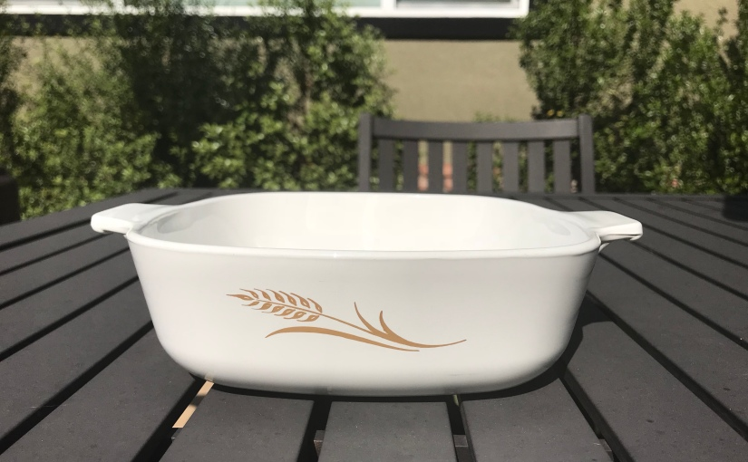 Thrifted Find: Corning Ware Wheat