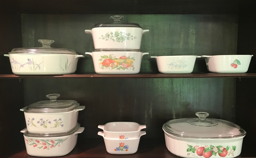 Thrifted Find: '90s Corning Ware Patterns