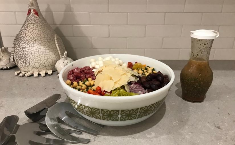 Antipasto Salad with LemonGarbanzos